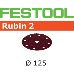 Festool Schleifscheibe STF D125/8 P80 RU2/50 Rubin 2