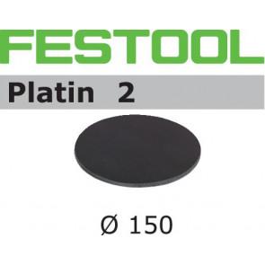 Festool Schleifscheibe STF D150/0 S4000 PL2/15 Platin 2