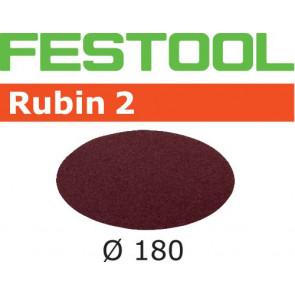 Festool Schleifscheibe STF D180/0 P60 RU2/50 Rubin 2