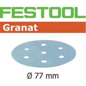Festool Schleifscheibe STF D77/6 P120 GR/50 Granat