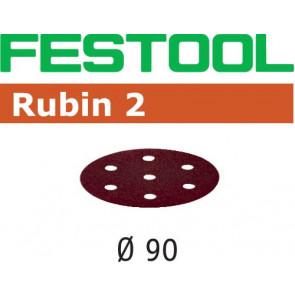 Festool Schleifscheibe STF D90/6 P60 RU2/50 Rubin 2