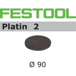 Festool Schleifscheibe STF D 90/0 S500 PL2/15 Platin 2