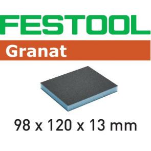 Festool Schleifschwamm 98x120x13 220 GR/6 Granat
