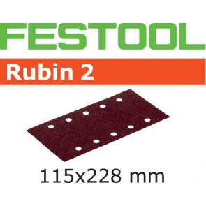 Festool Schleifstreifen STF 115X228 P80 RU2/50 Rubin 2