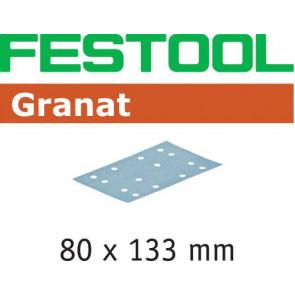 Festool Schleifstreifen STF 80x133 P80 GR/50 Granat