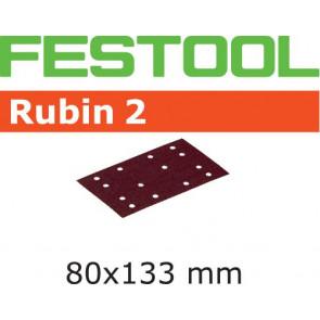 Festool Schleifstreifen STF 80X133 P80 RU2/50 Rubin 2