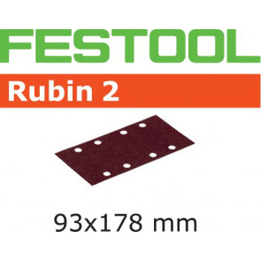 Festool Schleifstreifen STF 93X178/8 P180 RU2/50 Rubin 2