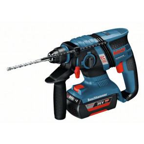 Bosch Akku-Bohrhammer GBH 36 V-EC Compact, mit 2 x 2,0 Ah Li-Ion Akku, L-BOXX