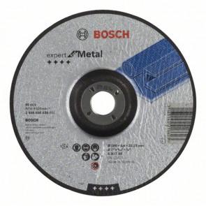 Bosch Schruppscheibe gekröpft Expert for Metal A 30 T BF, 180 mm, 22,23 mm, 4,8 mm, 10 Stück