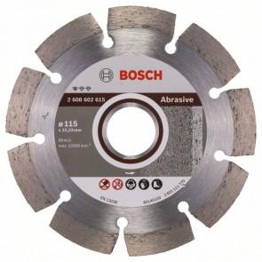 Bosch Diamanttrennscheibe Standard for Abrasive, 115 x 22,23 x 6 x 7 mm