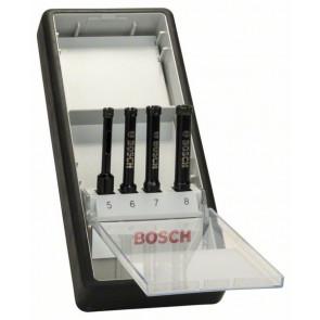 Bosch Diamantnassbohrer-Set Robust Line, 4-teilig, 5 - 8 mm