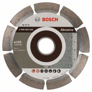 Bosch Diamanttrennscheibe Standard for Abrasive, 125 x 22,23 x 6 x 7 mm