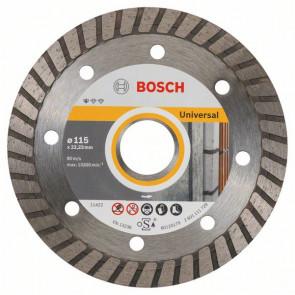 Bosch Diamanttrennscheibe Standard for Universal Turbo, 115x22,23x2x10 mm, 1er-Pack