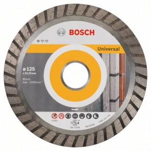 Bosch Diamanttrennscheibe Standard for Universal Turbo, 125x22,23x2x10 mm, 1er-Pack