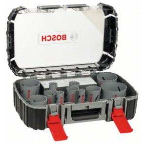 Bosch Lochsägen-Set HSS-Bimetall Universal, 17-teilig, 20 - 60, 64, 76 mm