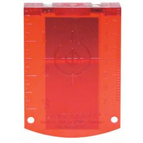 Bosch Laserzieltafel rot