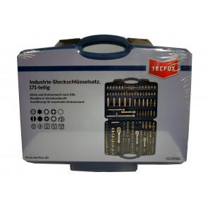TECFOX Steckschlüsselsatz 171-teilig