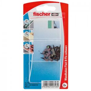 fischer Fast&Fix schwarz K (8), 5 Stück