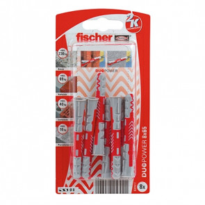 fischer DUOPOWER 8x65 K (8), 5 Stück