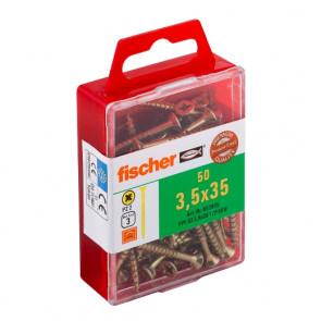 fischer Power-Fast 3,5x35 SK gevz TG PZ (50)