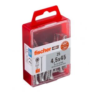 fischer Power-Fast 4,5x45 SK A2 TG PZ (25)