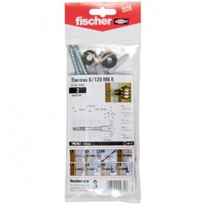 fischer Thermax 8/120 M6 B (2), 5 Stück