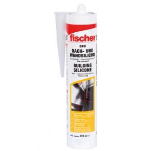 fischer Dach- Wandsilicon DBSI 310 transparent, 12 Stück