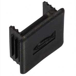 fischer Abdeckkappe FEC 21 S schwarz, 100 Stück