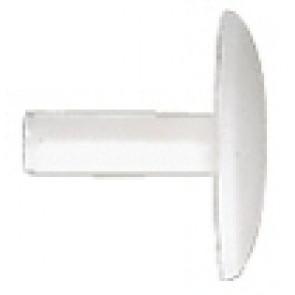 fischer Abdeckkappe ADF 12 W weiß, 100 Stück