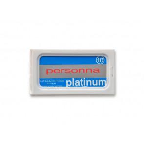 Personna 10 Platinum Red Double Edge Rasierklingen 04NR002