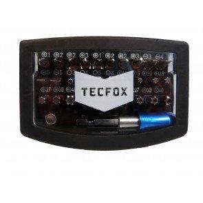 TECFOX Bit-Box, 32-teilig mit Schnellwechselhalter