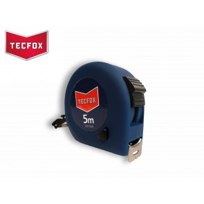 TECFOX Rollbandmaß 5 Meter 19 mm breit, Softgriff